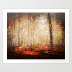 Fire Within Art Print