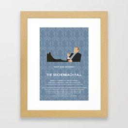 The Reichenbach Fall - Greg Lestrade Framed Art Print