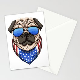 American Dog ! Stationery Cards