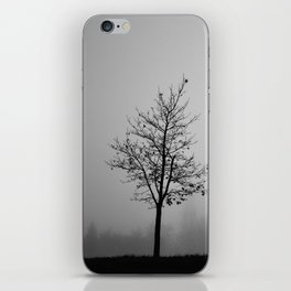 Foggy Silhouettes. iPhone Skin