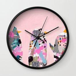 Maxine can't dance Wall Clock