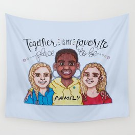 Together for Safia Wall Tapestry