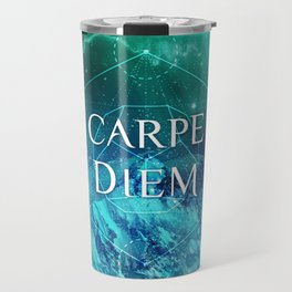 CARPE DIEM GEOMETRY Travel Mug