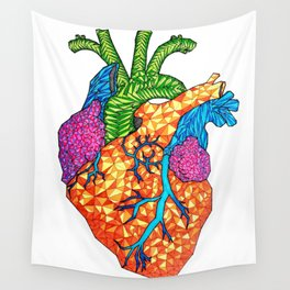 Bursting Art-eries Wall Tapestry
