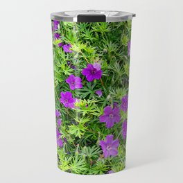 "TRUE SPECIE HARDY GERANIUM ""TINY MONSTER"" Travel Mug"