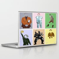 bill Laptop & iPad Skins featuring Mr Bill by T.E.Perry