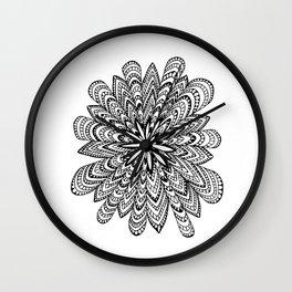 Kaleidoscope Mandala Wall Clock