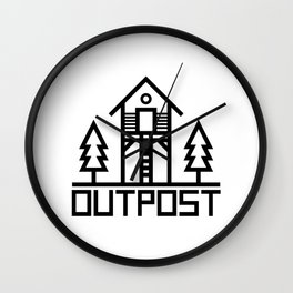 OUTPOST Wall Clock