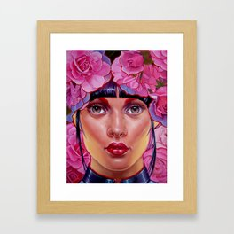 The perfect doll fake chinese Framed Art Print
