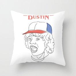 Dustin not Stranger Throw Pillow