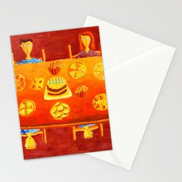 Family of 5 Tea Party Stationery Cards