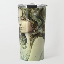 Zodiac Aquarius Travel Mug