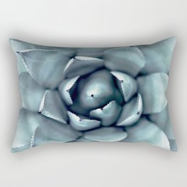 Agave Print, Cactus Print, Succulent Art Rectangular Pillow