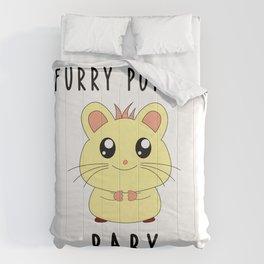 Funny Golden Hamster Pet Furry Potato Baby Gift Design Comforters