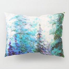 BLUE MOUNTAIN PINES LANDSCAPE Pillow Sham