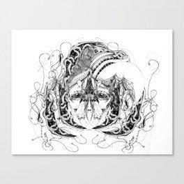 sulfre Canvas Print