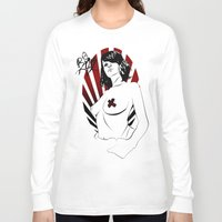 girl power Long Sleeve T-shirts featuring Girl Power by Sirenphotos