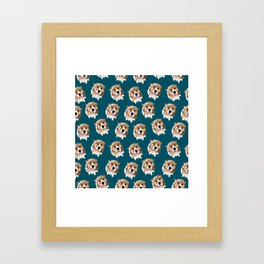 Junebug Pattern Framed Art Print