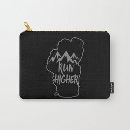 Run Higher LT Black Carry-All Pouch