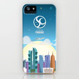 Space Up iPhone Case