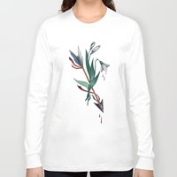 arrow Long Sleeve T-shirts featuring Arrow by Станислава Коробкова