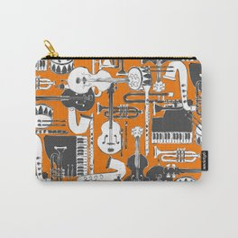 weave jazz orange Carry-All Pouch