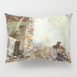 A Street in Arras - Digital Remastered Edition Pillow Sham