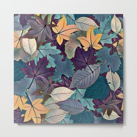 Leafy Goodness Metal Print