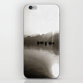 Gulets In Greyscale iPhone Skin
