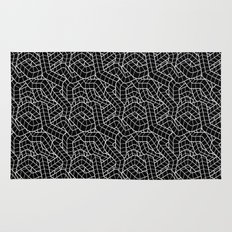 Ducts Black Rug