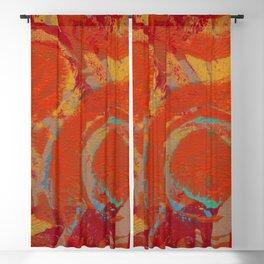Orange-aid Blackout Curtain