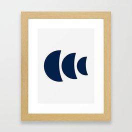 Keep Swimming Framed Art Print