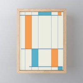Mid-Century Modern Art 2.5 Framed Mini Art Print