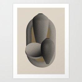 Grains - Four Light Art Print