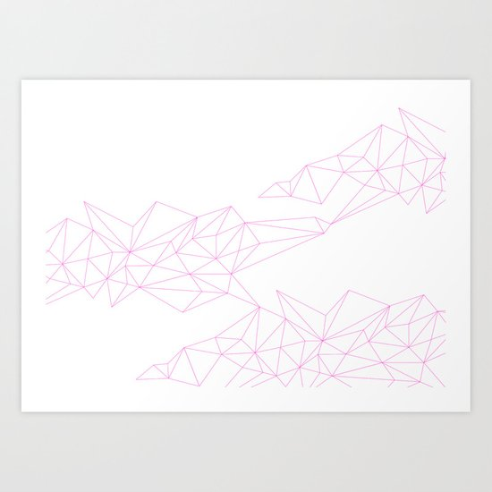 connections 2 Art Print