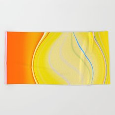Beach Party Beach Towel