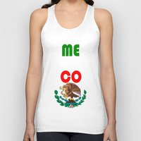 mexico Tank Tops featuring Mexico  by RDsix3