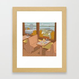 Athenian, Pike Place Market, Seattle WA Framed Art Print
