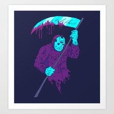 Reaper Jason Art Print
