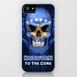 To The Core Collection: Kosovo iPhone Case