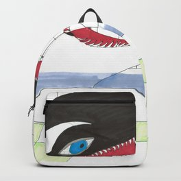 Orca In My Shower Backpack