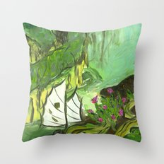 High Seas Throw Pillow