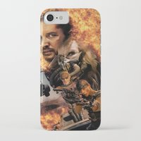 mad max iPhone & iPod Cases featuring Mad Max by SB Art Productions