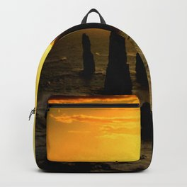 Sunset over the Twelve Apostles - Australia Backpack