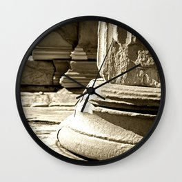 Marble carving Wall Clock