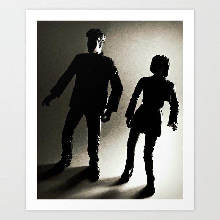 Special Agents Art Print