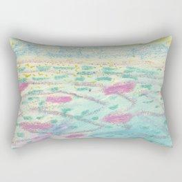 Bora Bora - The Beautiful Sea Rectangular Pillow