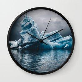 iceberg in iceland Wall Clock