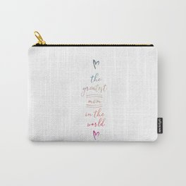 The Greatest Mom In The World Carry-All Pouch