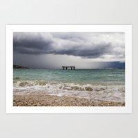 The Coming Storm Art Print